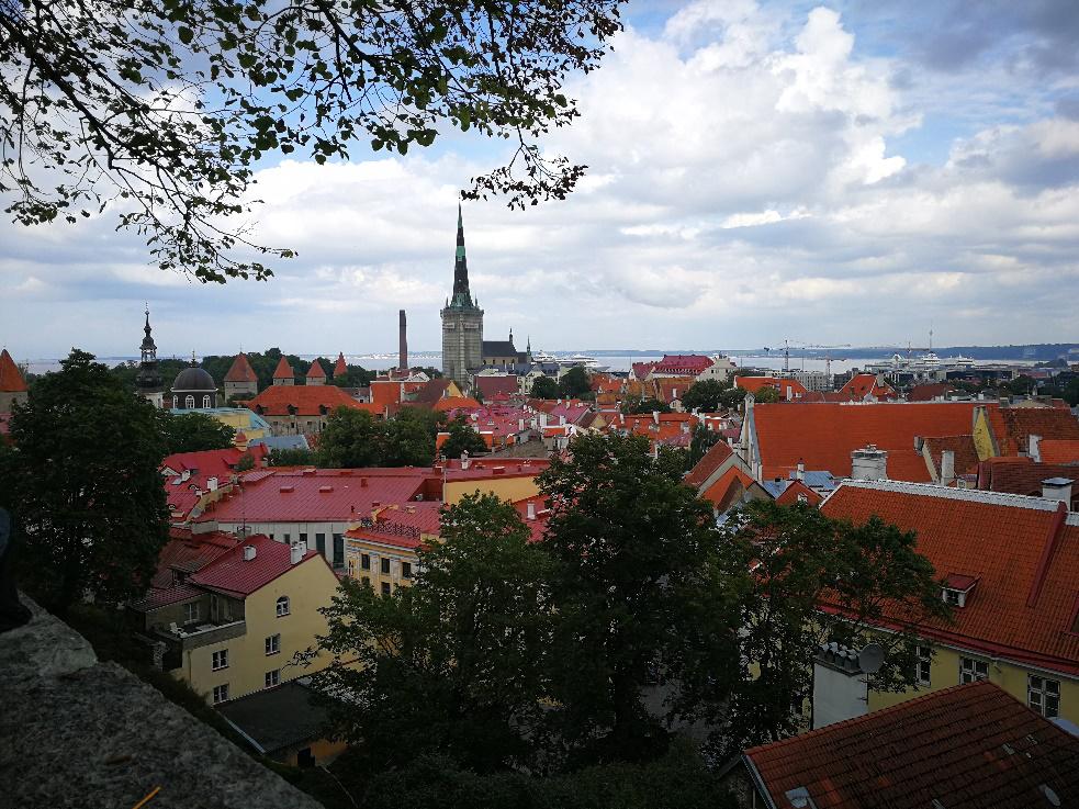 Tallinn Estonie Eurovelo 11