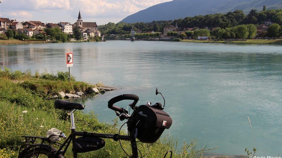 Le Rhône à vélo