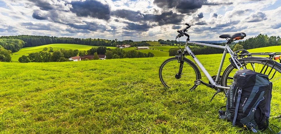 voyage vélo collecte