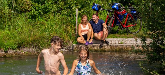 Tour du Lac de Constance à vélo en famille