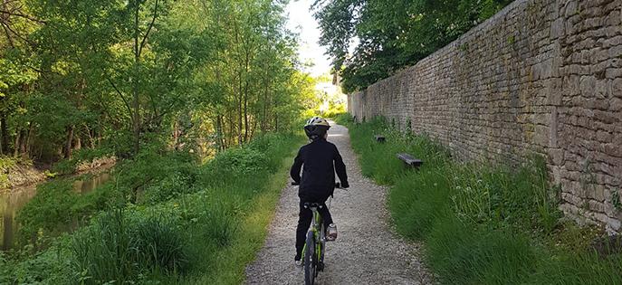 Le Marais Poitevin à vélo : royaume de verdure où règnent les voies vertes et pistes cyclable. Idéal pour des vacances à vélo en famille !